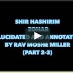 Shir Hashirim Zohar annotated part(2-3)Reader Yehuda Tenennbaum